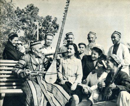 12木卡姆—维吾尔族的民间音乐