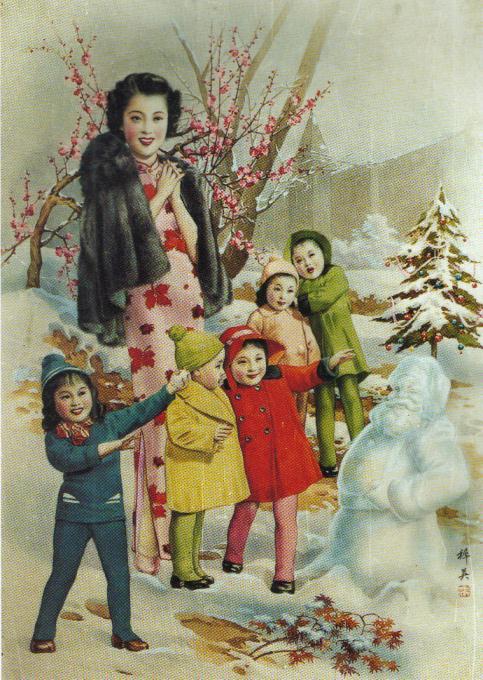 上海月份牌手绘
