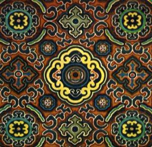 地毯艺人马金台,满族绢花艺人金玉林(六十五岁),维吾尔族乐器艺人艾依
